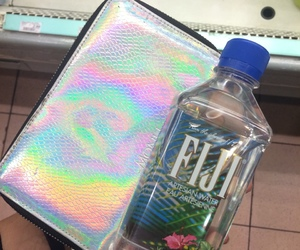 holographic, fiji, and aesthetic image