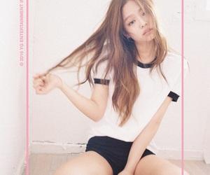 korea, rose, and jennie image