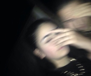 grunge, blurry, and friendship image