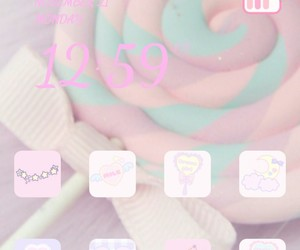 background, pink, and home screen image