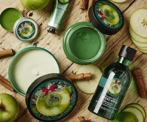 apple, body butter, and christmas image