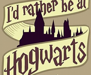 hogwarts, harry potter, and book image