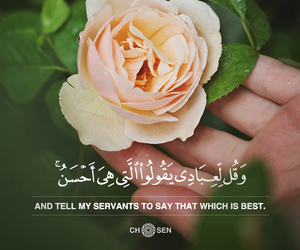 allah, flowers, and green image
