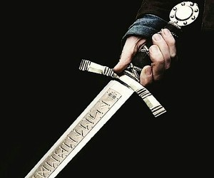 sword, fantasy, and medieval image