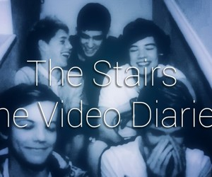 louis, stairs, and niall image