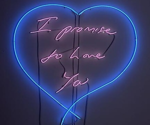 light, neon, and love image