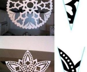 diy, snowflake, and christmas image