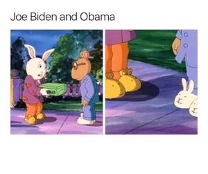 joe biden, obama, and true af tho image
