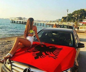 albanian, beauty, and car image