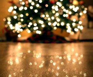 christmas, christmas tree, and homely image