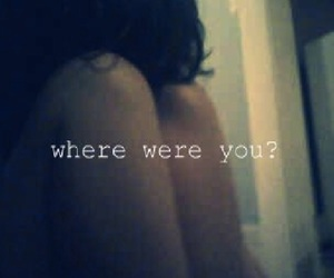 him and where were you image