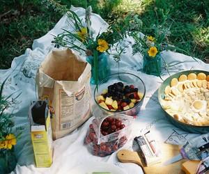 food, picnic, and vintage image