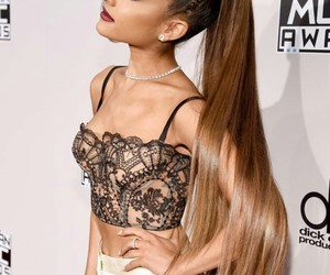 ariana grande, celebrity, and hair image