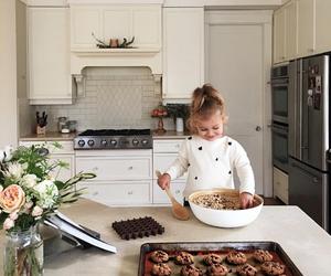 baby, kitchen, and child image