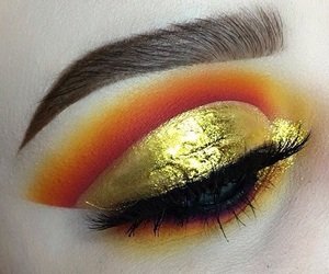 girl, glam, and gold image