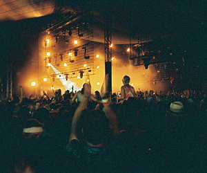 concert, light, and people image