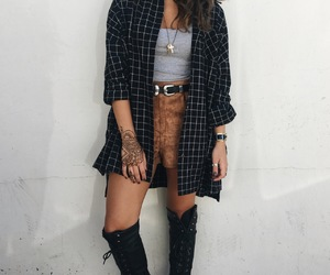 boho, girl, and trend image