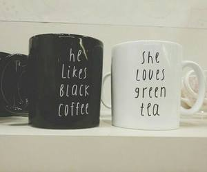 tea, coffee, and black image