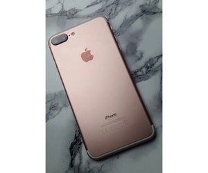 iphone, phone, and rosegold image
