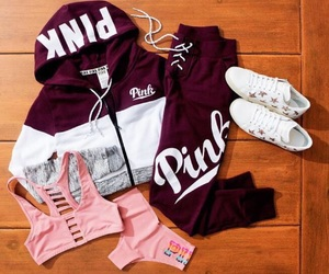 outfit, pink, and top image