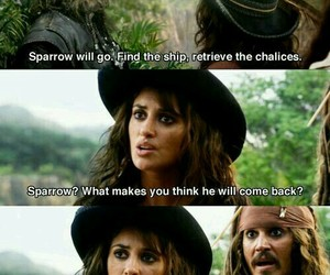 jack sparrow, funny, and pirates of the caribbean image