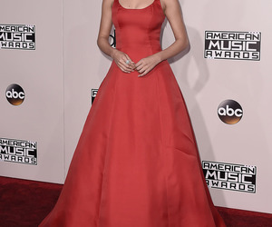 selena gomez, red, and dress image