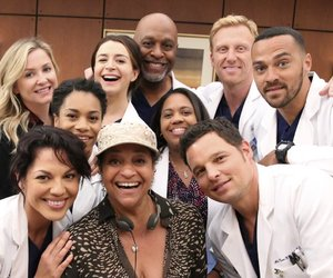 grey's anatomy, cast, and series image