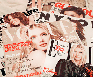 magazine, vogue, and fashion image