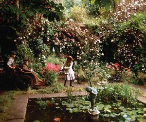 garden, The Secret Garden, and secret garden image