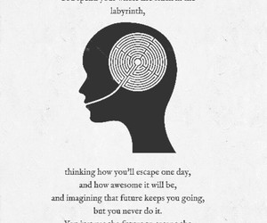 quote, looking for alaska, and john green image