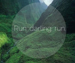 run, darling, and fitness image