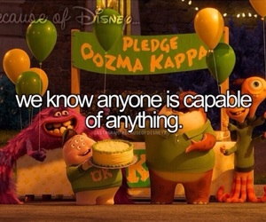 monsters university and disney image