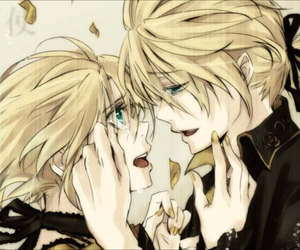 anime, blond, and vocaloid image