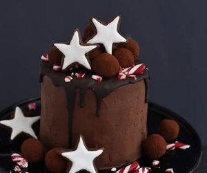 candy, candy cane, and fudge image