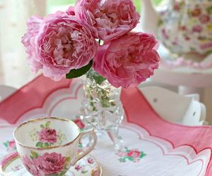 beautiful, bouquet, and cute image
