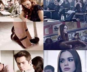 lydia, tw, and stiles image