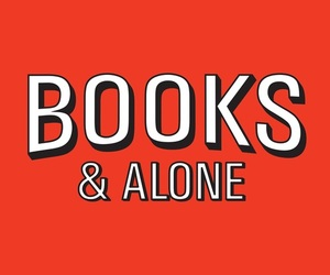 books, alone, and red image