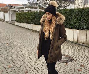 fashion, black, and jacket image