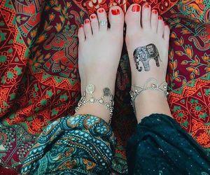 hippie, beautiful, and bohemian image