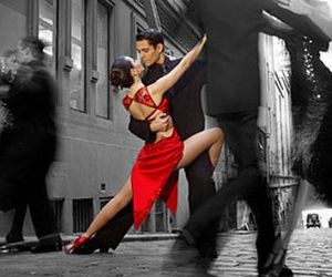 tango, dance, and red image
