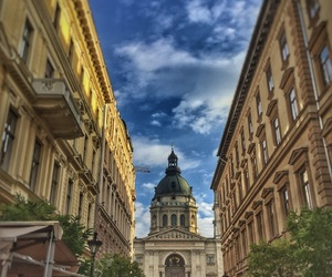 budapest, city, and travel image