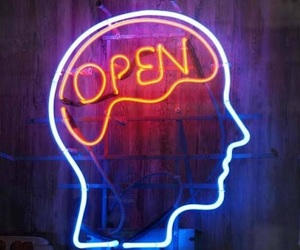 open, mind, and light image
