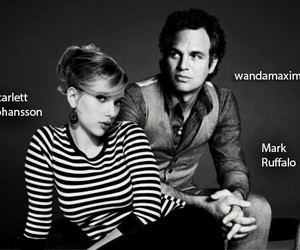 mark ruffalo and Scarlett Johansson image