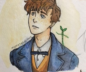 drawing, pickett, and fantastic beasts image