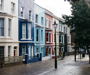 colours, Houses, and Notting Hill image