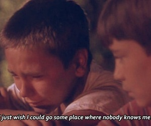 stand by me, movie, and sad image