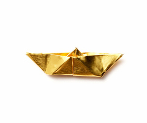 boat and gold image