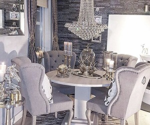 accent wall, beautiful, and chairs image