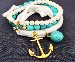 etsy, nautical jewelry, and cotton jewelry image