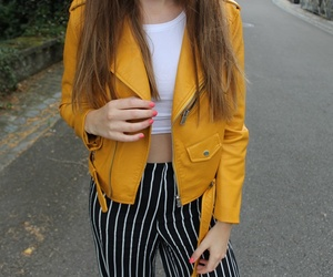 mustard and stripes image